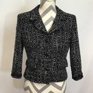 ❤️ 5 for $15 Black Boucle Jacket